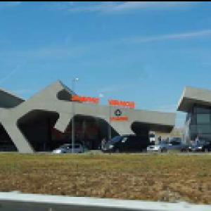 benzinestation in Georgië