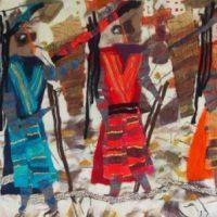 Vrouwelijke sherpa's op pad